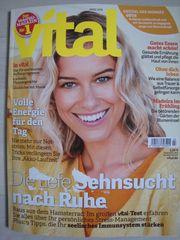 NEU ungelesen Zeitschrift VITAL März