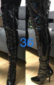 sexy Overknee Stiefel