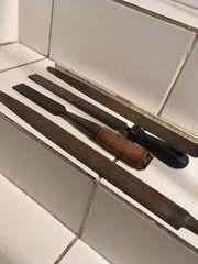 Alte Werkzeuge 3 Teile aus