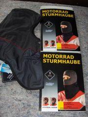 Motorrad Kleidung zwei Sturmhauben Biker