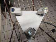 Halogen Deckenstrahler in Dreiecksform
