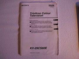 TV, Projektoren - Röhrenfernseher Sony Flachbildschirm ca 69