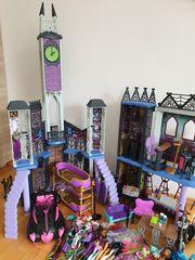Monster High Schloss und Zubehör