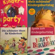 Kindergeburtstag - Bücher