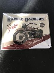 Harley Davidson Blechschild