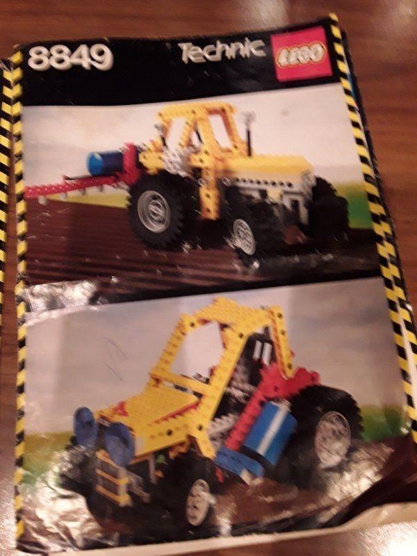 Lego Technic Tracktor von den