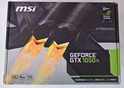 LEERKARTON - MSI GeForce GTX 1050