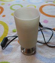 Nachttischlampe von Honsel mit Leuchtmittel