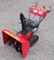 Schneefräse 9 PS Benzinmotor Raupe