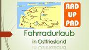 Fahrradfahren in Ostfriesland an der