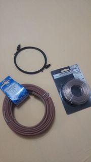 Lautsprecher u optisches Kabel - neu