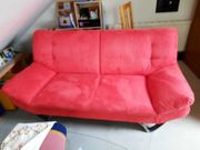 Rote Vintage Couch