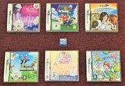 7x Nintendo DS Spiele Mario