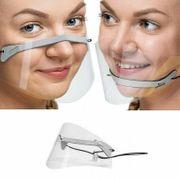 5x Transparent Mund Nasen Visier