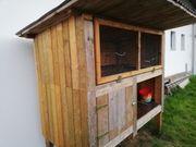 Holz Stall Massiv