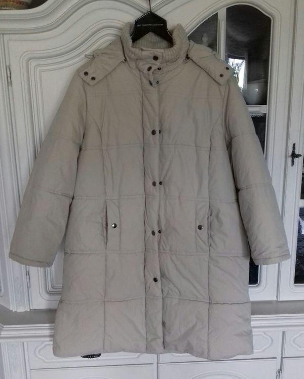 Damen-Jacke Kurzmantel mit Kaputze von
