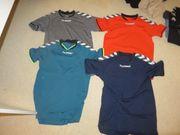 4 Hummel-Shirts Handball Größe 164