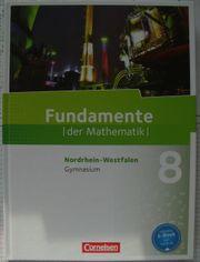 Fundamente der Mathematik 8 NRW