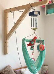 Swing2Sleep Galgen Holz Elektronische Federwiege