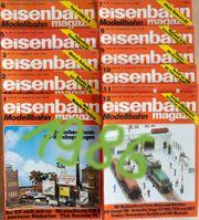 Eisenbahn Magazin Modellbahn 1981 1984