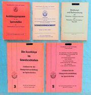 GST-Broschüren für Sportschützen und Schützenvereine
