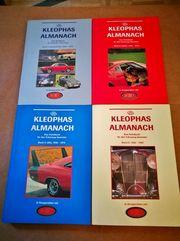 4 Handbücher Kleophas Almanach Einzelverkauf