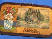 Bayern Füssen Schloss Berg Holz