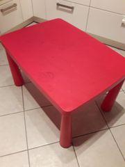 IKEA Mammut Tisch rot
