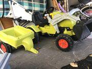 Kinder Traktor mit Anhänger