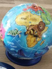 3-D Puzzle Erde Nachtlicht