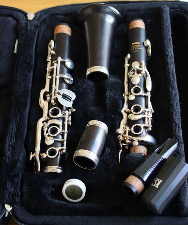 Sehr gepflegte Yamaha Klarinette 457-20