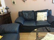 2x Sofa Couch Leder 2Sitzer
