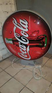 Coca-Cola XXL Leuchtreklame Original Werbeschild