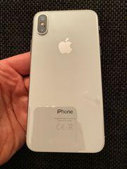 iPhone X 256GB Silber zu