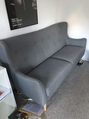 Graues Sofa zu verkaufen