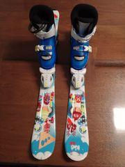 Kinderski inkl Skistiefel verstellbar von