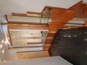 Schrankverbau Massivholz
