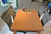 Esstisch - Holz - Limba - Platte massiv -