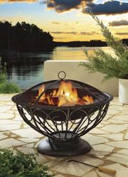 Feuerschale Feuerkorb Feuerstelle Terrassenkamin Terrassenfeuer