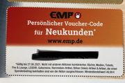 EMP-Gutschein für Neukunden