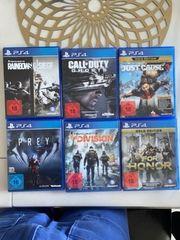 6 Spiele für die PS4