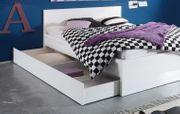 Bettkasten Schubkasten Schublade auf Rollen