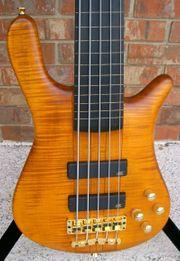 SUCHE Warwick fretless Bass 5