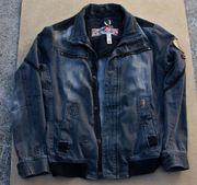 Khujo Jeans Jacke gebaucht XL