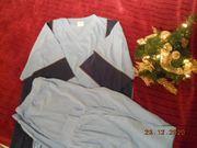 Verkauft - He-Schlafanzug Pyjama blau Gr