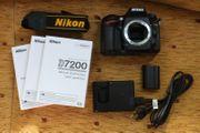 Nikon D7200 DSLR Kamera 24