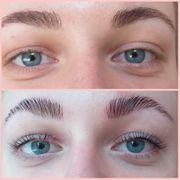 Browlifting Augenbrauenlaminierung