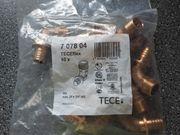TECEFLEX Winkel Übergangsnippel Rotguss 25x3