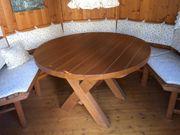 Massiver Gartentisch dm 120cm