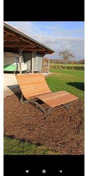 Waldsofa Gartenliege Wellenliege Relaxliege aus
